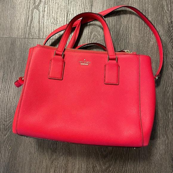 Beautiful red Kate Spade bag